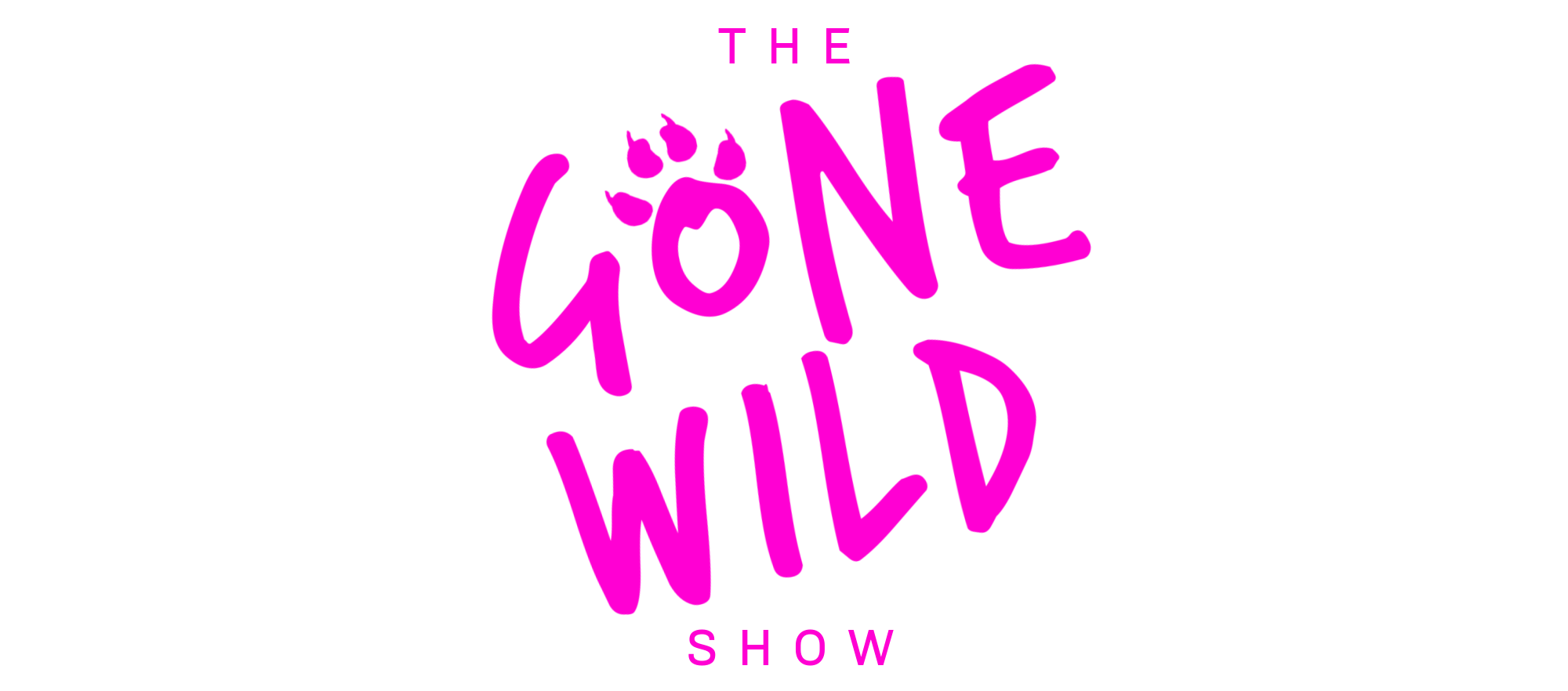 THE GONE WILD SHOW LOGO transparent NEW